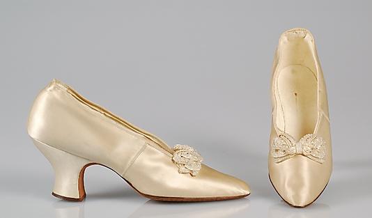 Svadobné topánočky od r.1900 - 1904