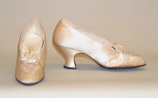 Svadobné topánočky od r.1900 - 1915