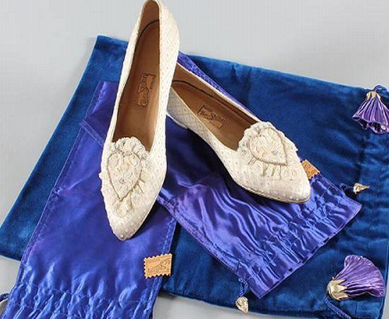 Svadobné topánočky od r.1900 - 1981 princezna Diana