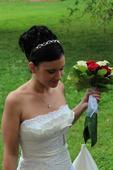 Svatební šaty - původ z USA, vel 36/38, 38