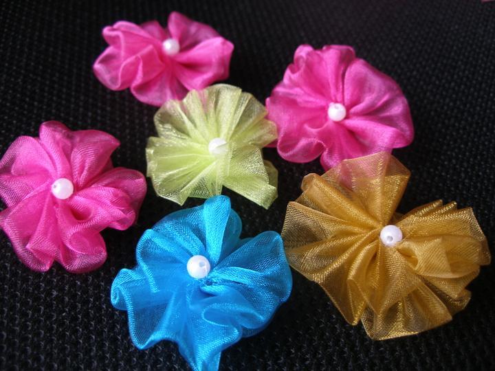 Dekoračné kvietky - MINI kvietky (4-5 cm)
