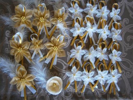 Svadobné sady - pierka, brošničky, velke pierka - Obrázok č. 2
