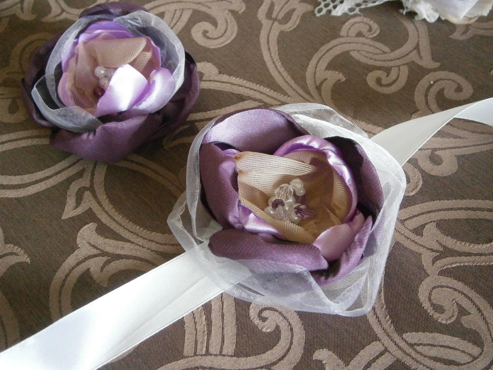 Svadobné sady - pierka, brošničky, velke pierka - Obrázok č. 4