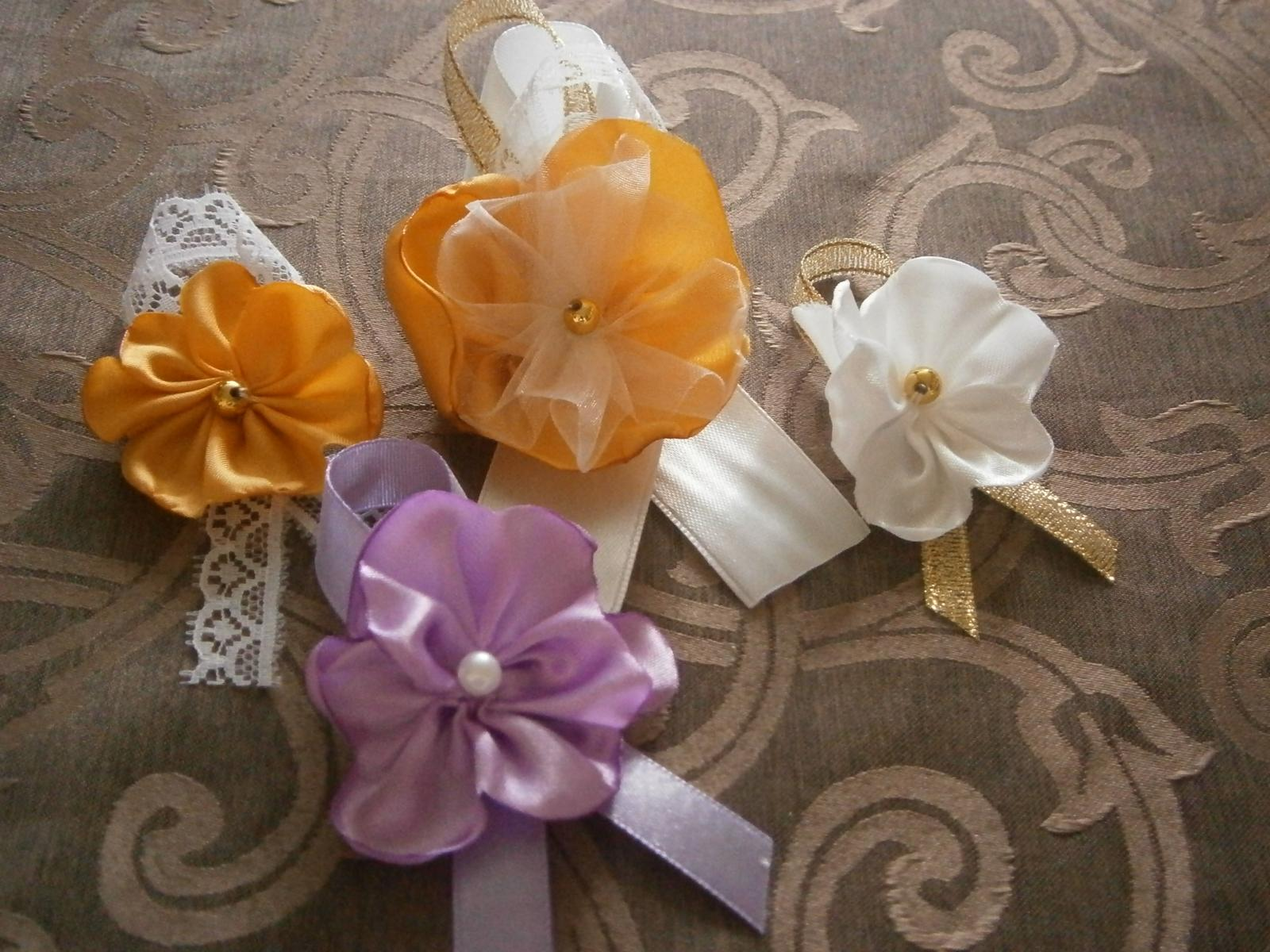 Svadobné sady - pierka, brošničky, velke pierka - Obrázok č. 37