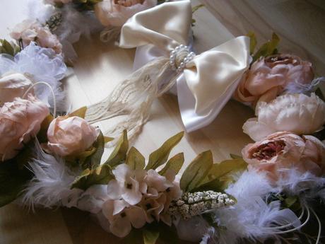 Svadobné dekorácie - skladom - 62 cm