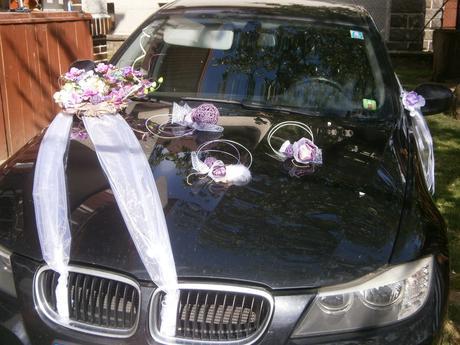 Svadobné výzdoby na AUTO - Obrázok č. 1