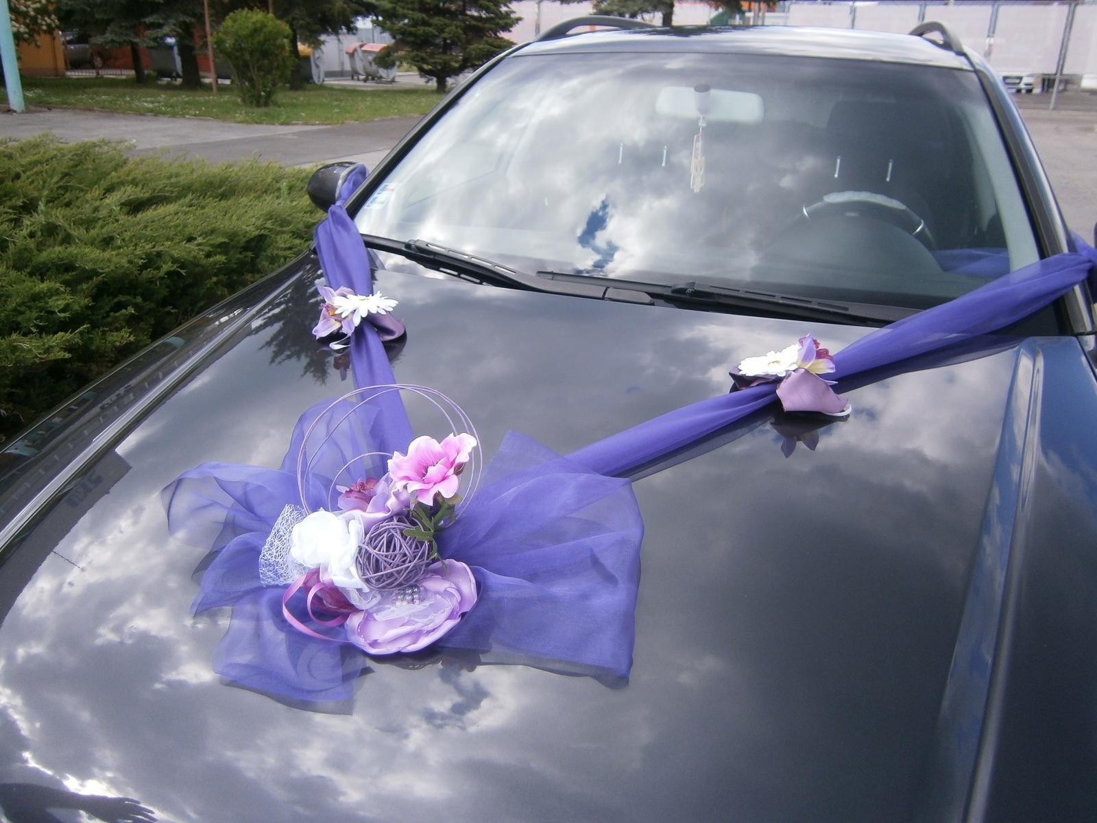 Svadobné výzdoby na AUTO - Obrázok č. 64