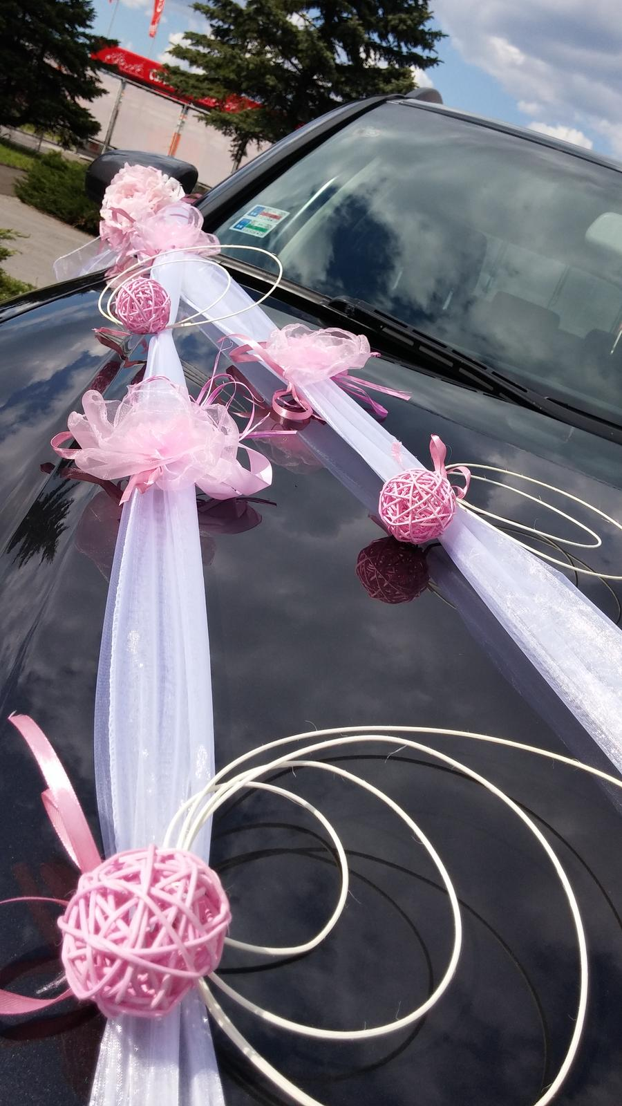 Svadobné výzdoby na AUTO - Obrázok č. 69