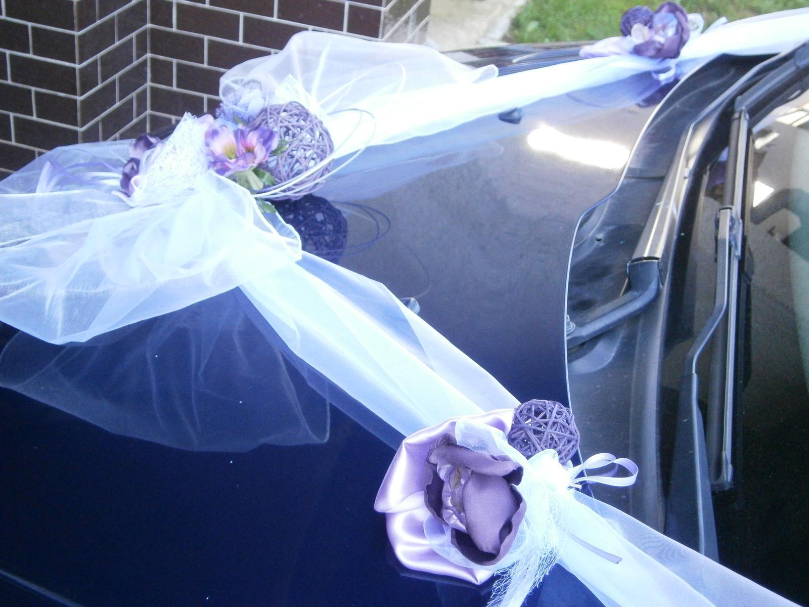 Svadobné výzdoby na AUTO - Obrázok č. 97