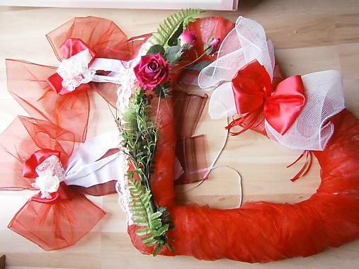 Svadobné dekorácie - skladom - 1 ks vyrobený