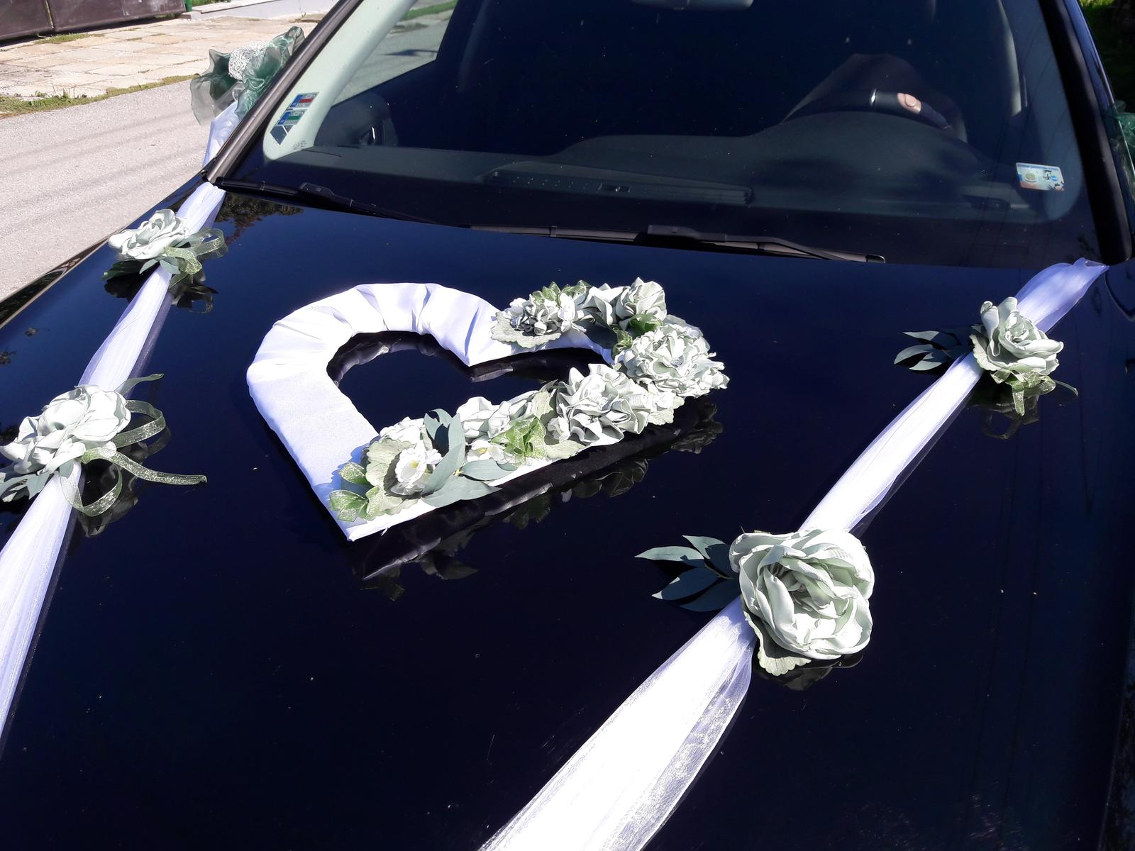Greenery wedding - skladom - 29 eur s maslami na zrkadlach