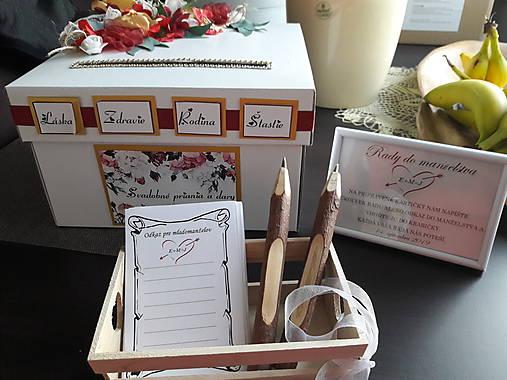 Wedding box / pokladničky na redový/na peniažky a po svadbe na spomienky - Obrázok č. 200