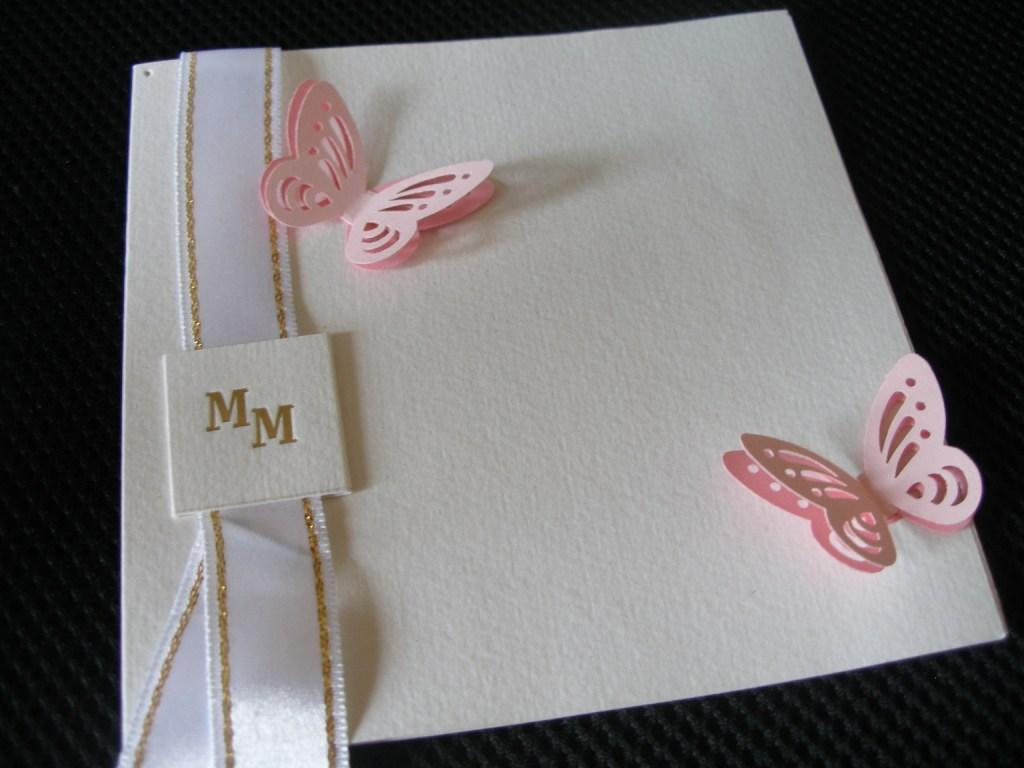 Ružové 3D-motýliky (10ks-balenie) - Obrázok č. 3