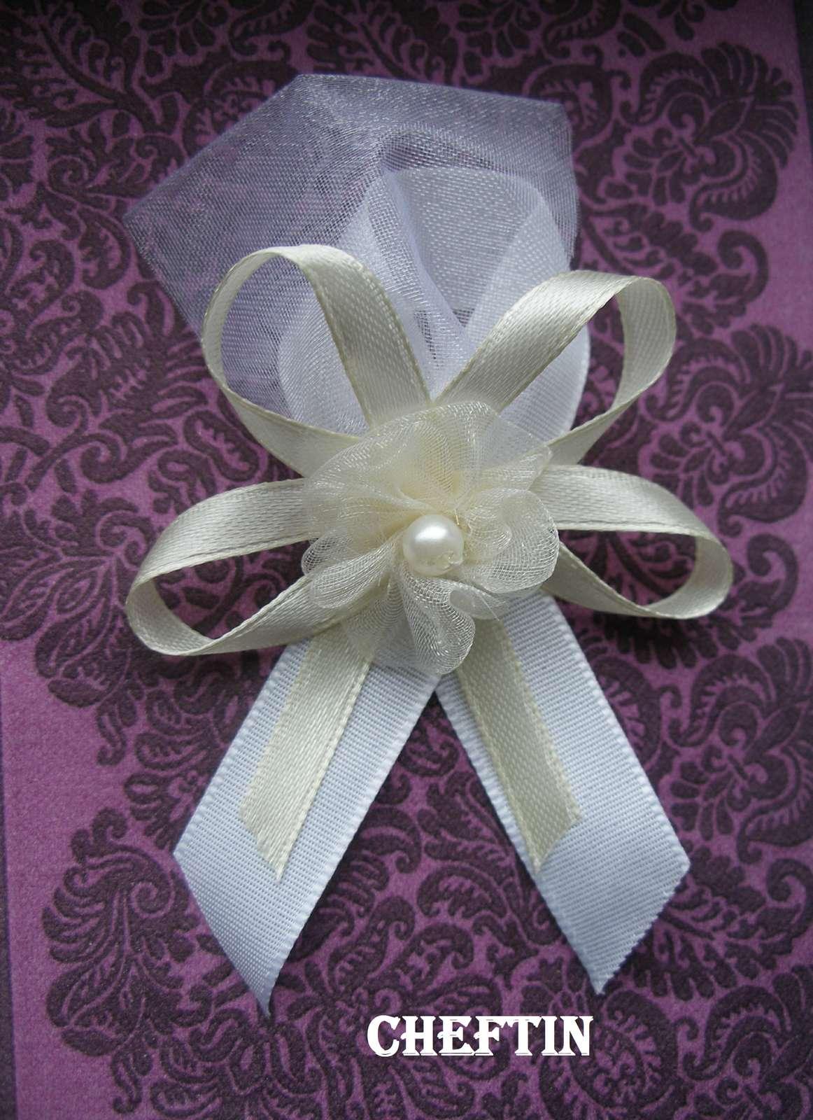 Svadobné pierka biela/smotanová - Obrázok č. 1