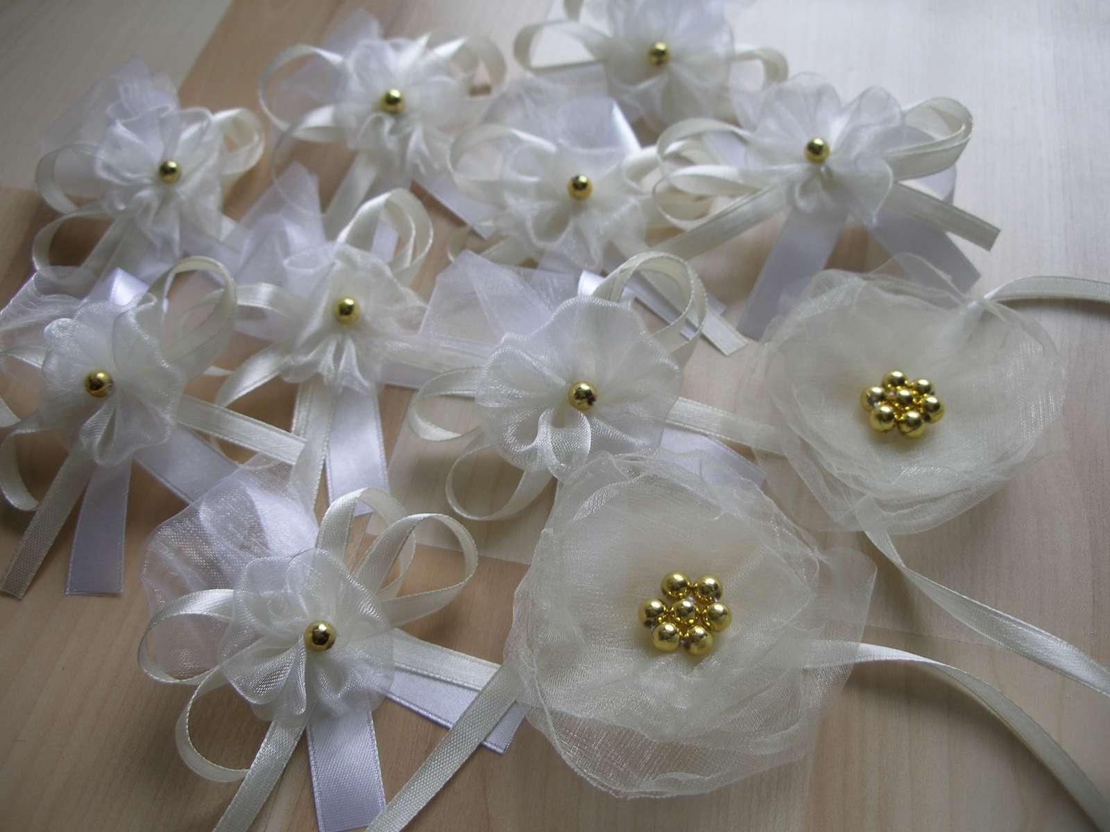 Svadobné pierka biela/smotanová - Obrázok č. 4