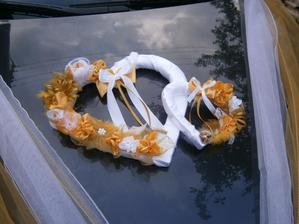 Veľké Srdce na svadobné auto - Obrázok č. 1