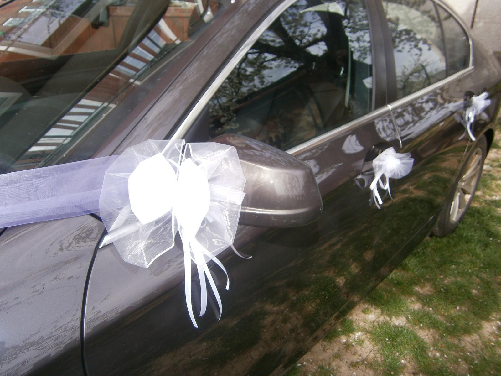 Výzdoba auta - LILIA +  biela - Obrázok č. 2