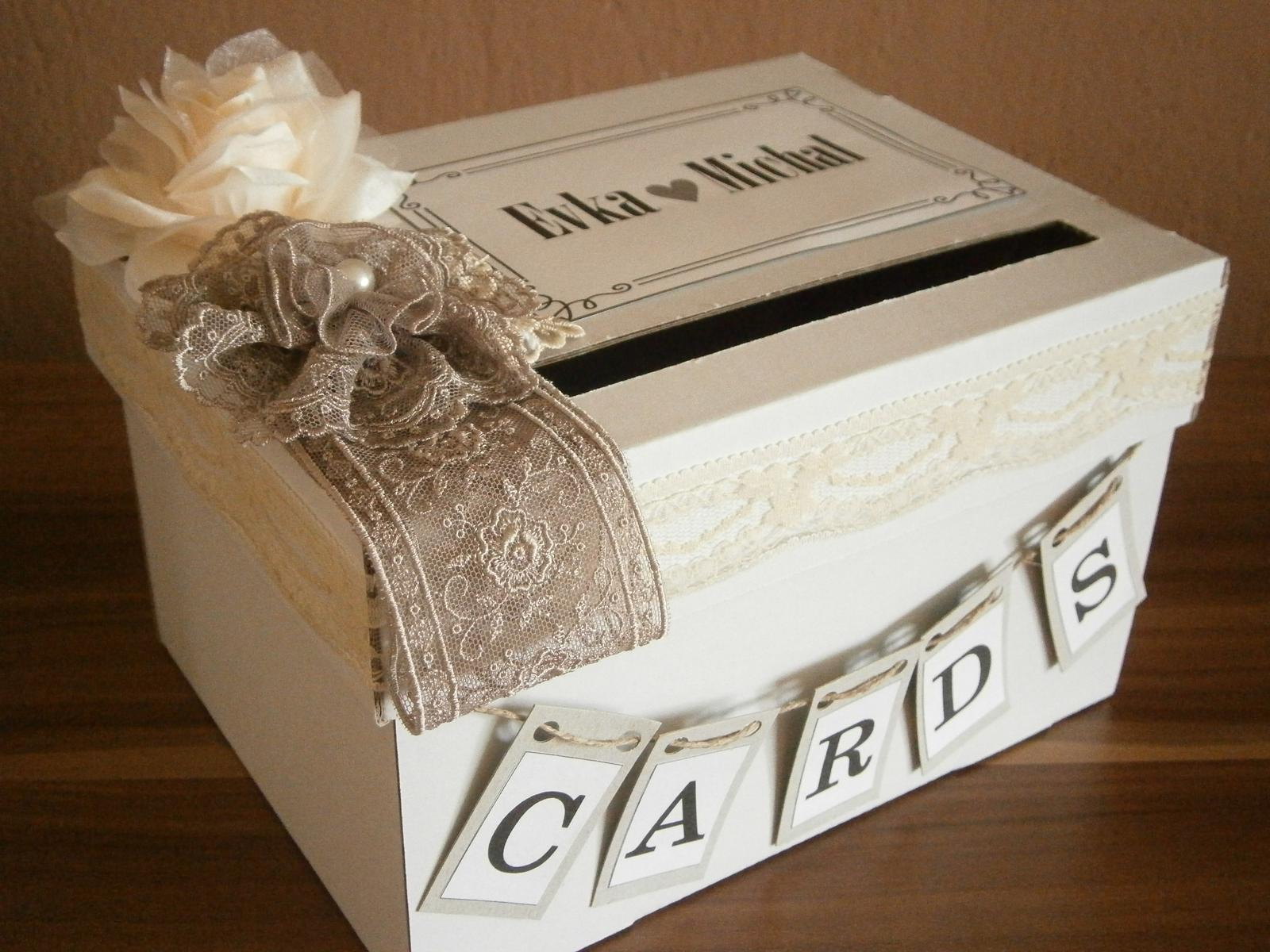 Wedding box CARDS - Obrázok č. 1