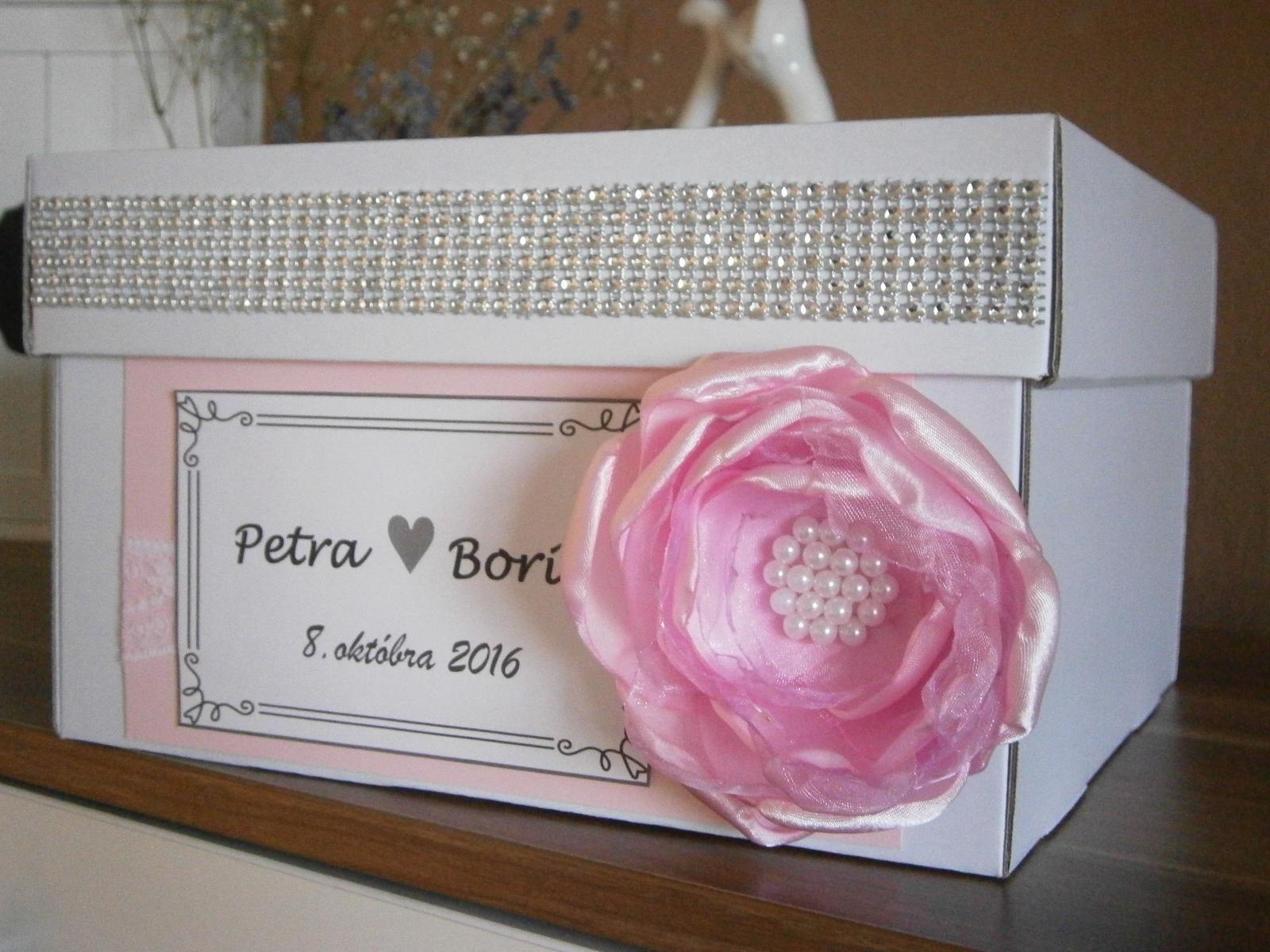 Wedding box / pokladnička na redový tanec - Obrázok č. 1
