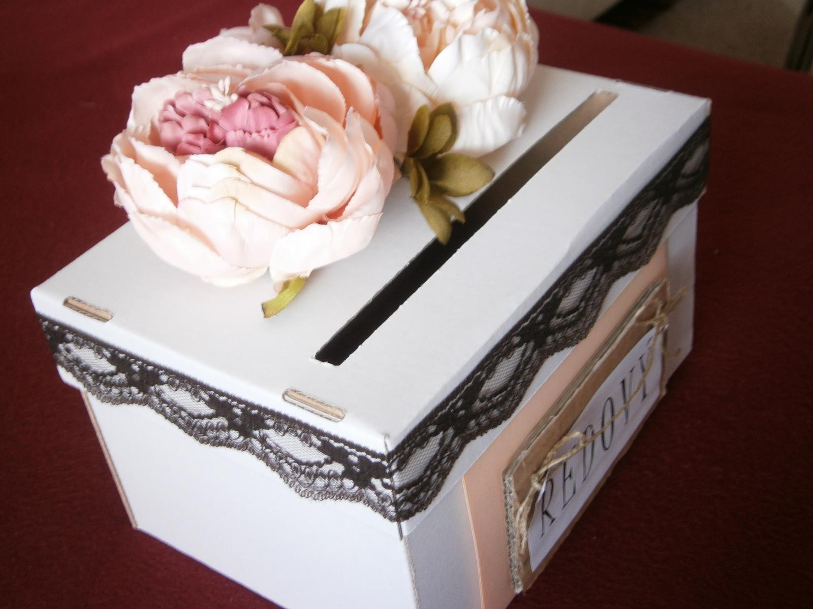 Wedding box / pokladnička pívonie - Obrázok č. 2