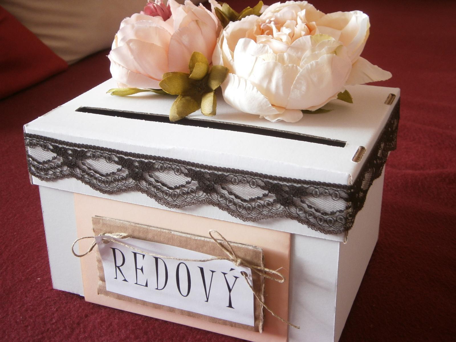 Wedding box / pokladnička pívonie - Obrázok č. 1