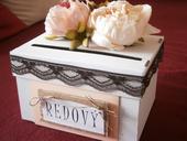 Wedding box / pokladnička pívonie,