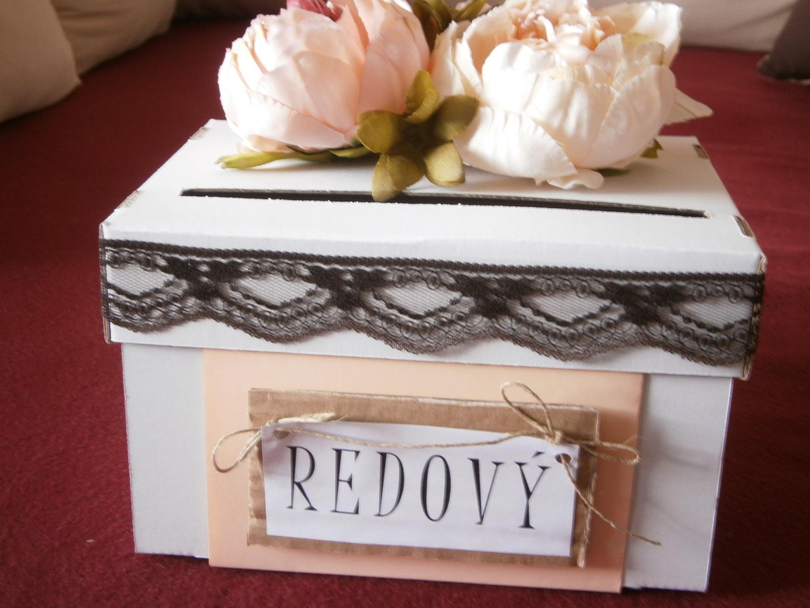 Wedding box / pokladnička pívonie - Obrázok č. 3