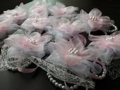 Náramky - romantické ružové,