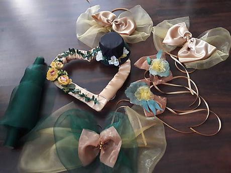 Na ženíchove auto - smaragdová + gold - Obrázok č. 3