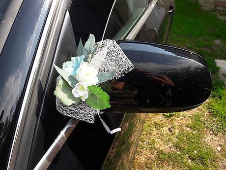 AKCIA Greenery a hortenzie na svadobné auto  - Obrázok č. 3