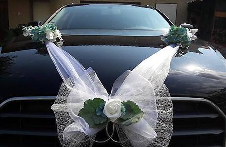 AKCIA Greenery a hortenzie na svadobné auto  - Obrázok č. 4