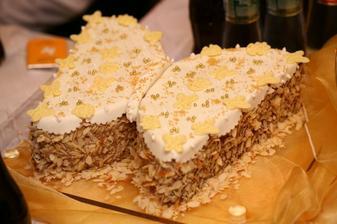 Úžasná tortička od úžasnej mamičky.