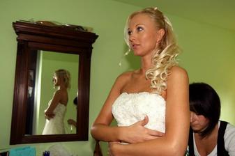 Oblékání nevěsty