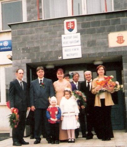 Jarka{{_AND_}}Šaňko - svedkovia,my a krsniatka