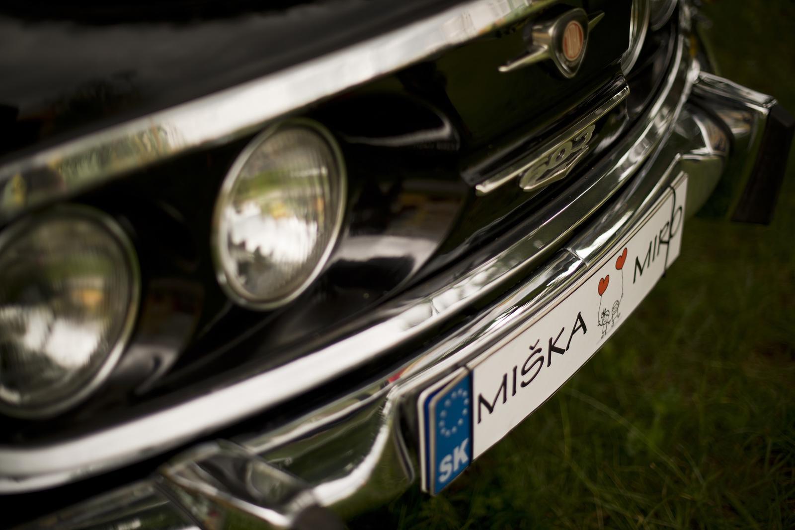 Miška{{_AND_}}Mirko - Naše krásne autíčko :) Tatra 603 ;)