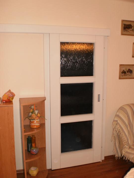 Interierove dvere - Posuvne dvere DTD 101 PE Biela perla