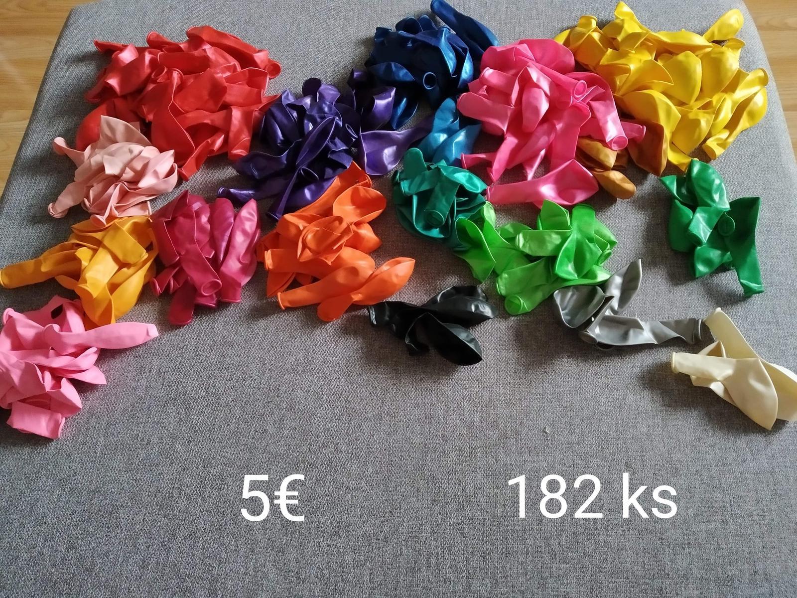 Farebné balóny - Obrázok č. 1