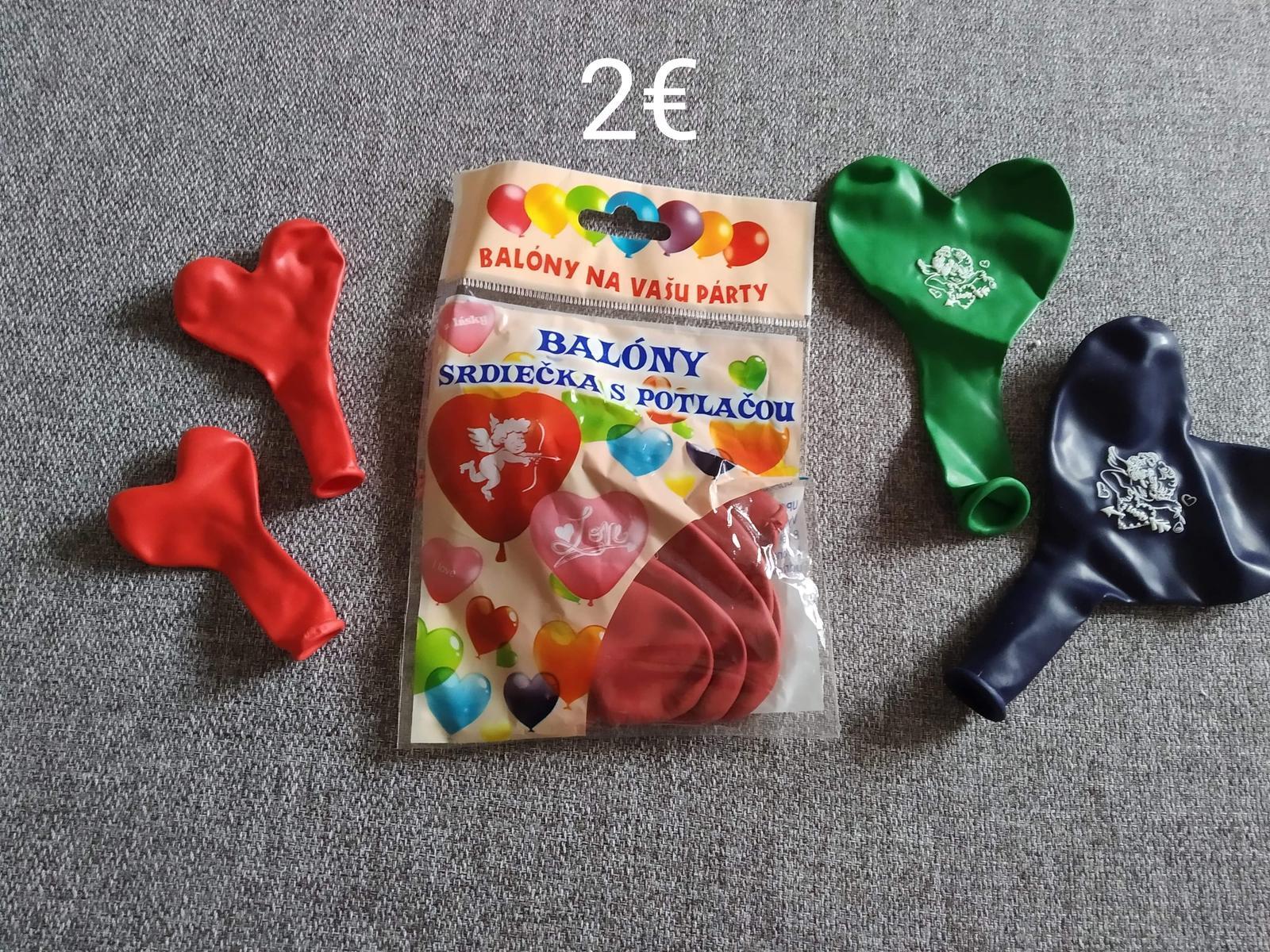 Balóny srdiečka - Obrázok č. 1