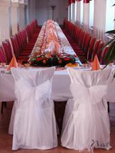 na novomanželské židličky