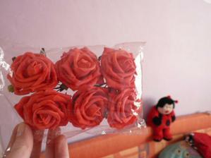 Růže z OBI, jdou do mé šerpy na auto :-)