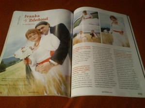 Objevili jsme se v letošním čísle časopisu Nevěsta ;)