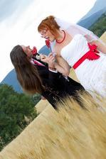 Jedna předvalentýnská vzpomínka na svatební den :)