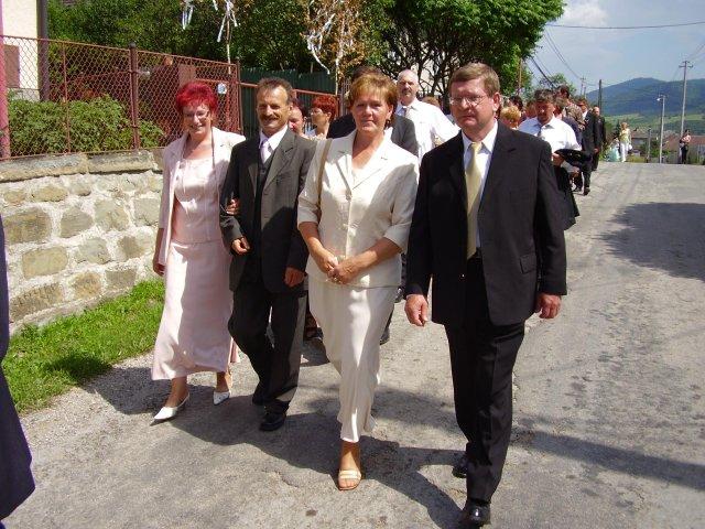 Mária Stašiková{{_AND_}}Miroslav Berthóty - svadobný rodičia