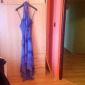 dlouhé večerní šaty za krk, 44