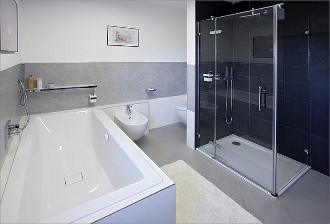 Inspirace - Pandomo v kombinaci s obklady planujeme do koupelny