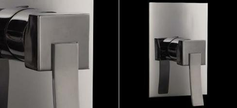 Baterie k bidetove sprsce u wc v koupelne - vsechno bude v koupelne hranate, tak i bidetova baterie:-)