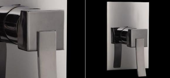 Inspirace - Baterie k bidetove sprsce u wc v koupelne - vsechno bude v koupelne hranate, tak i bidetova baterie:-)