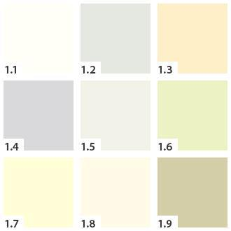 Inspirace - Cast barevneho vzorniku Pandoma - Barva 1.1 je sice hodne svetla, ale libila by se mi v koupelne v kombinaci s tmave hnedyma obkladama