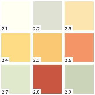 Inspirace - Dalsi cast  barevneho vzorniku pandoma - barva 2.1 je taky ve hre do koupelny