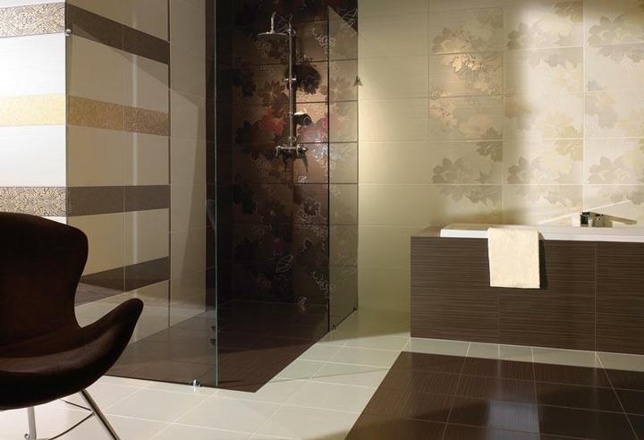 Inspirace - Tmave obklady planujeme do koupelny v kombinaci s pandomem